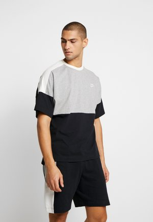 TOP  - T-shirts print - black/grey/white