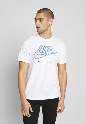 AIR ILLUSTRATION TEE - T-shirt imprimé - white