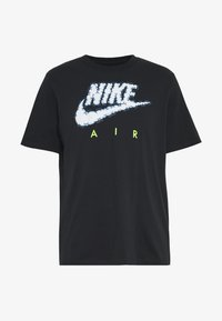 Nike Sportswear - AIR ILLUSTRATION TEE - Camiseta estampada - black - 4