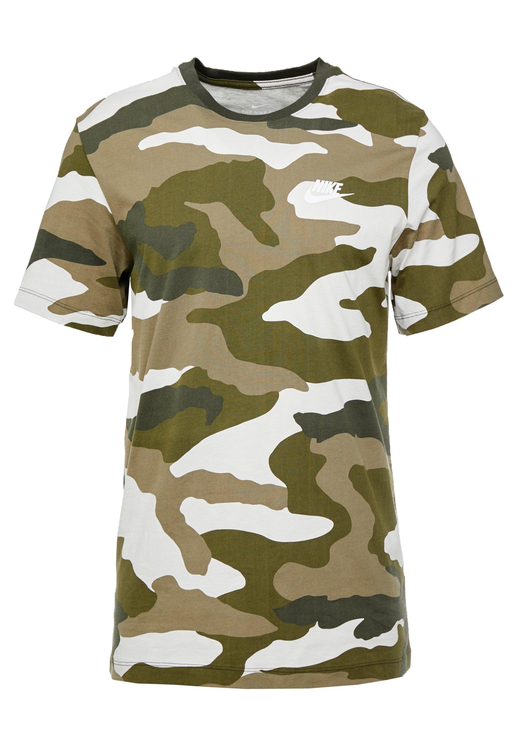 TEE T shirt imprimé light bonemedium olivelegion green