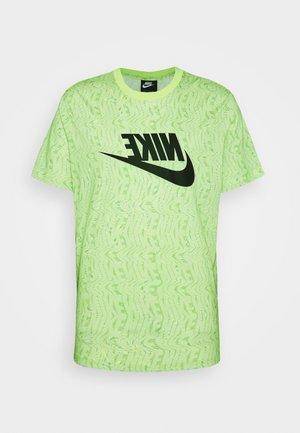 FESTIVAL TEE PRNT - Camiseta estampada - limelight/black