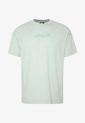 Print T-shirt - pistachio frost
