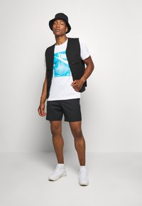 Nike Sportswear - FESTIVAL TEE - Print T-shirt - white/laser blue - 1