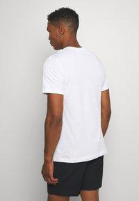 Nike Sportswear - FESTIVAL TEE - Print T-shirt - white/laser blue - 2