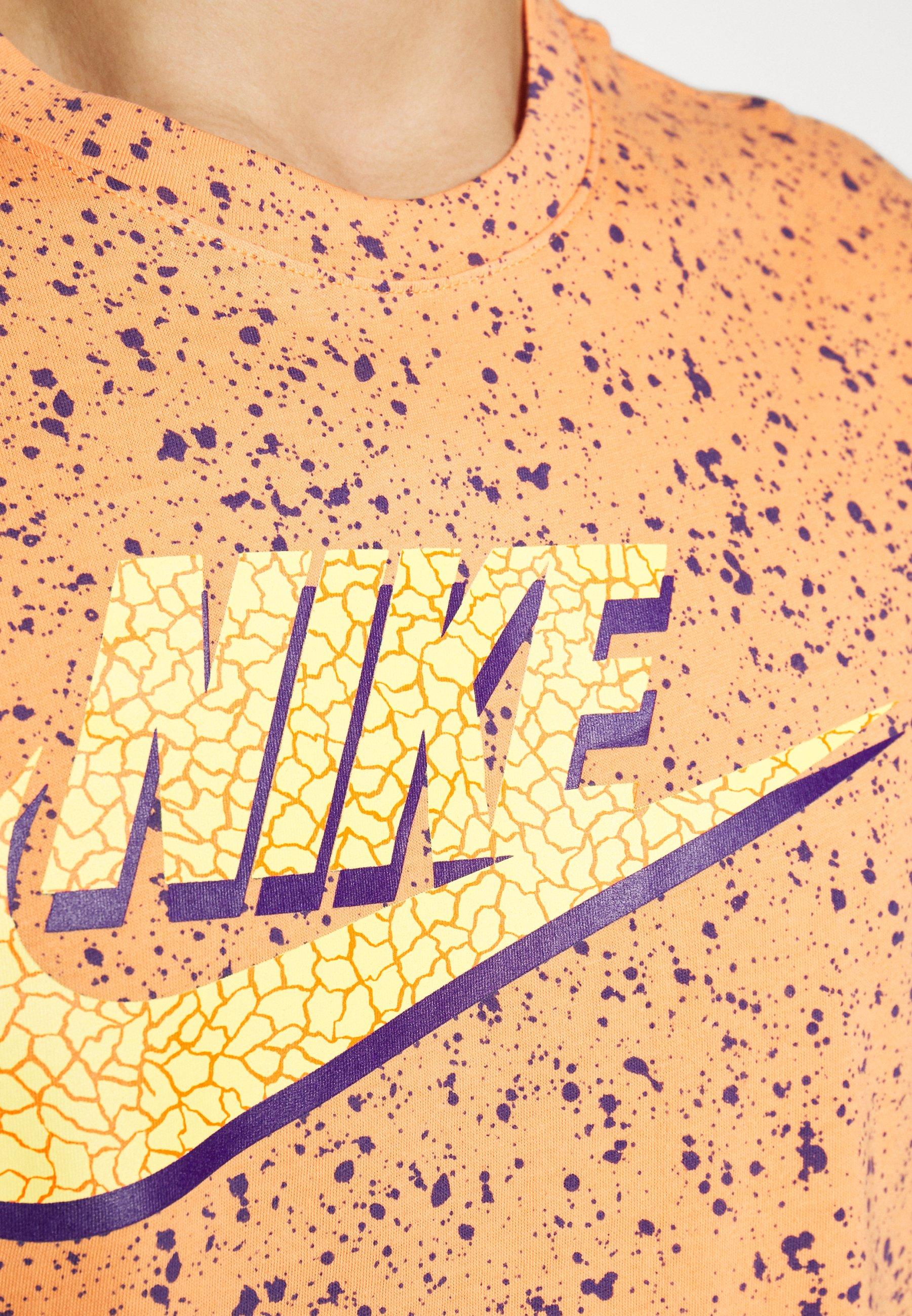 Nike Sportswear Print Pack - T-shirt Con Stampa Orange Trance W8zMA