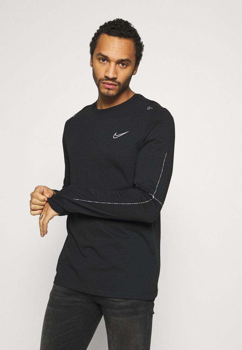 Nike Sportswear - Maglietta a manica lunga - black