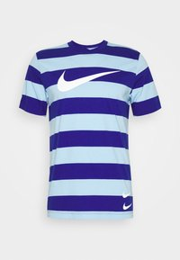 Nike Sportswear - STRIPE TEE - Print T-shirt - psychic blue/deep royal blue - 4