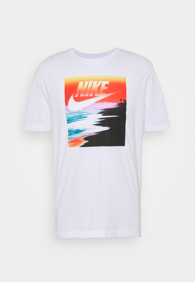 TEE SUMMER PHOTO - Print T-shirt - white