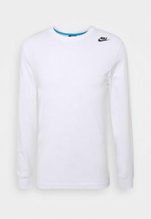 TEE - Bluzka z długim rękawem - white