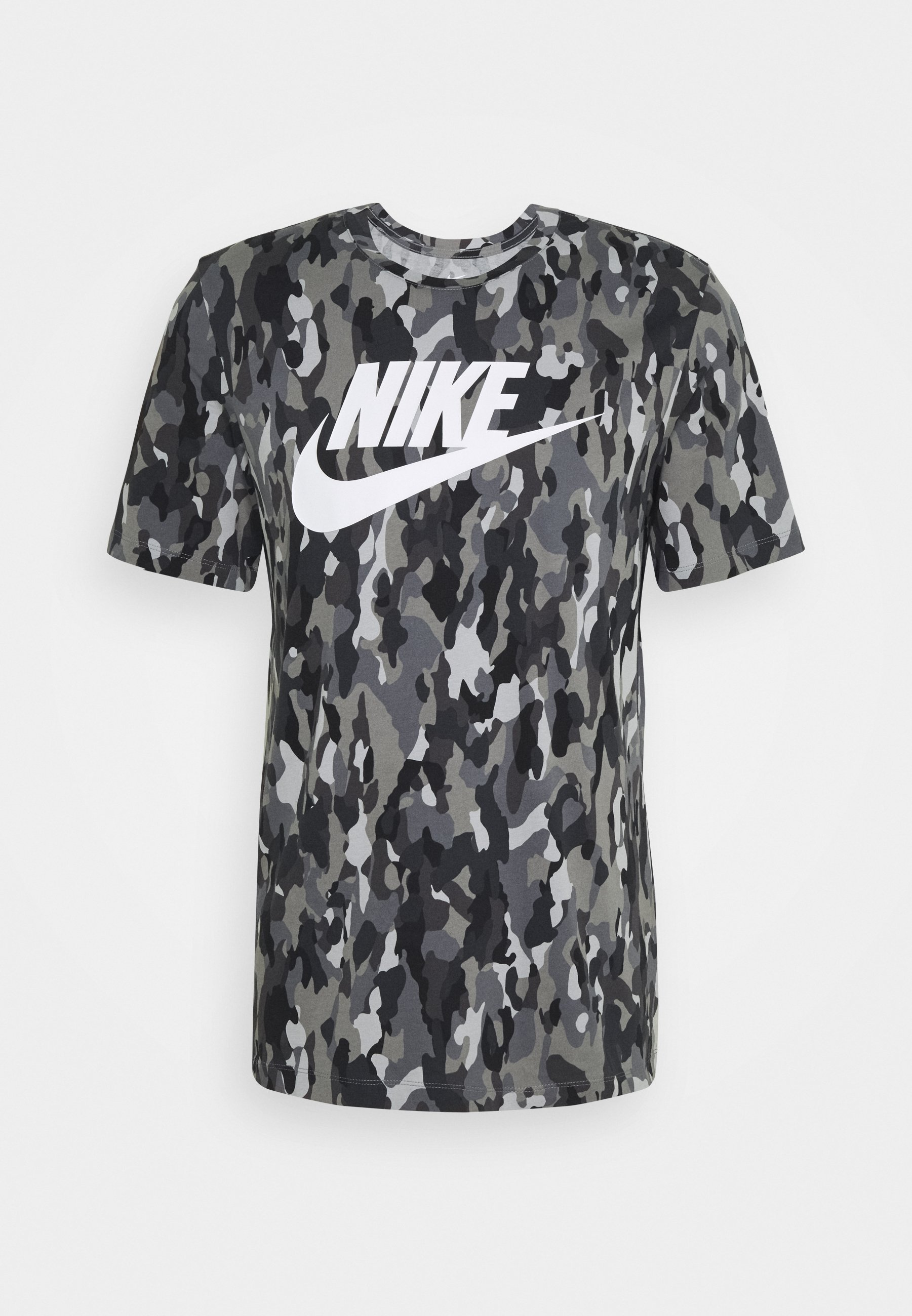 TEE CLUB T shirt imprimé smoke greycool greyiron greywhite