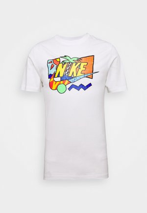 TEE SUMMER FUTURA - Print T-shirt - white