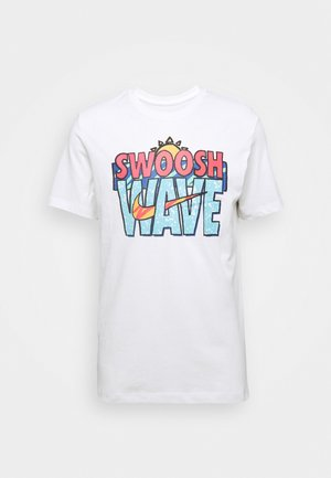 TEE SUMMER WAVE - T-shirt imprimé - white