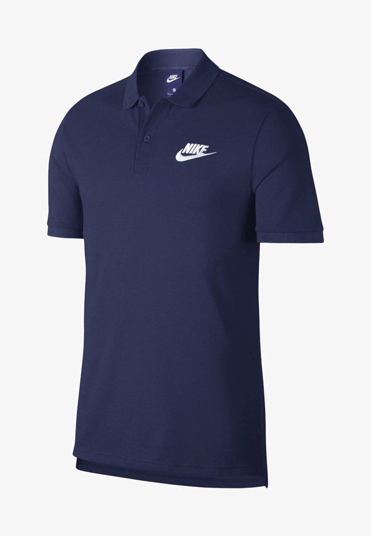 Nike Sportswear - MATCHUP - Poloshirts - midnight navy/white