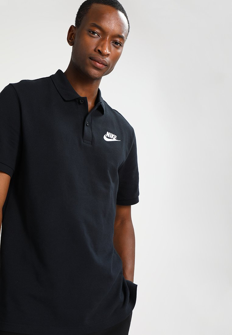 Nike Sportswear - MATCHUP - Polo - black