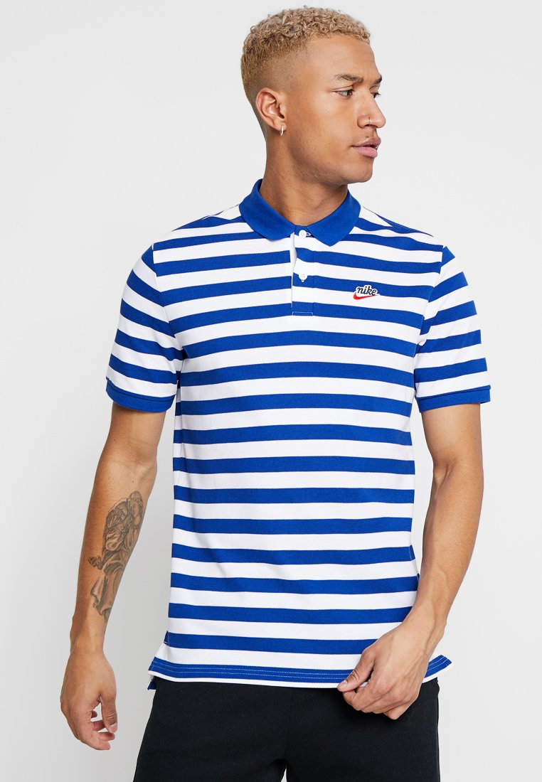 Nike Sportswear - SCRIPT - Poloshirt - indigo force