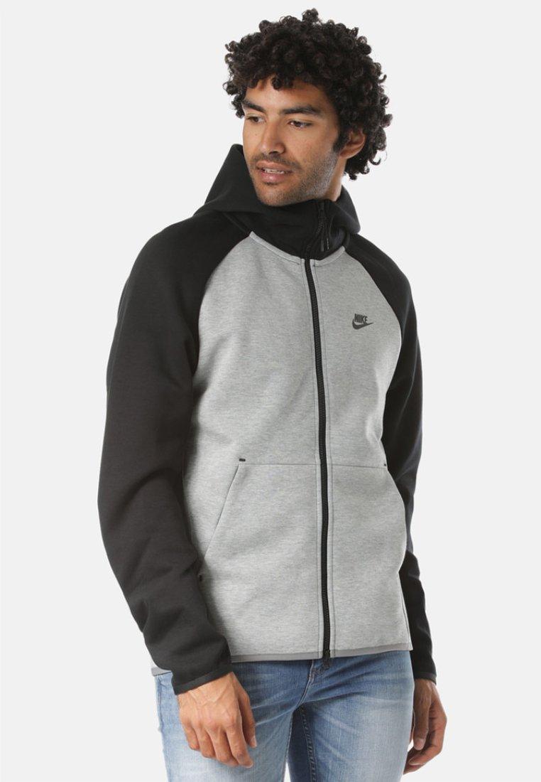 Nike Sportswear - REGULAR FIT - Huvtröja med dragkedja - gray