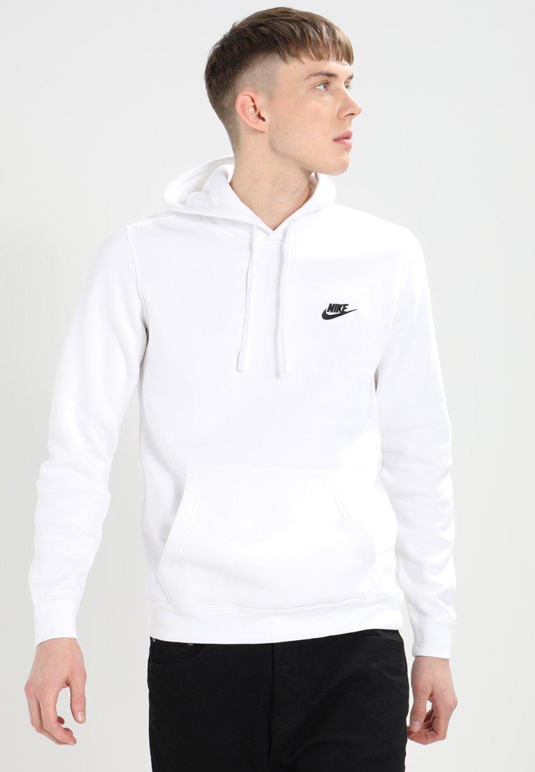 Nike Sportswear - CLUB HOODIE - Felpa con cappuccio - white