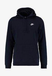 Nike Sportswear - CLUB HOODIE - Hoodie - dark blue - 6