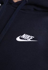 Nike Sportswear - CLUB HOODIE - Hoodie - dark blue - 5