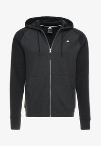 Nike Sportswear - OPTIC HOODIE - Sweatjakke /Træningstrøjer - black - 4