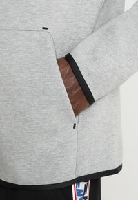 Nike Sportswear - TECH FULLZIP HOODIE - Hoodie met rits - dark grey heather/black