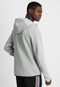 Nike Sportswear - TECH FULLZIP HOODIE - Felpa aperta - dark grey heather/black - 2