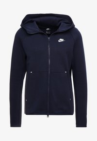 Nike Sportswear - TECH FULLZIP HOODIE - Hoodie met rits - obsidian/white - 4