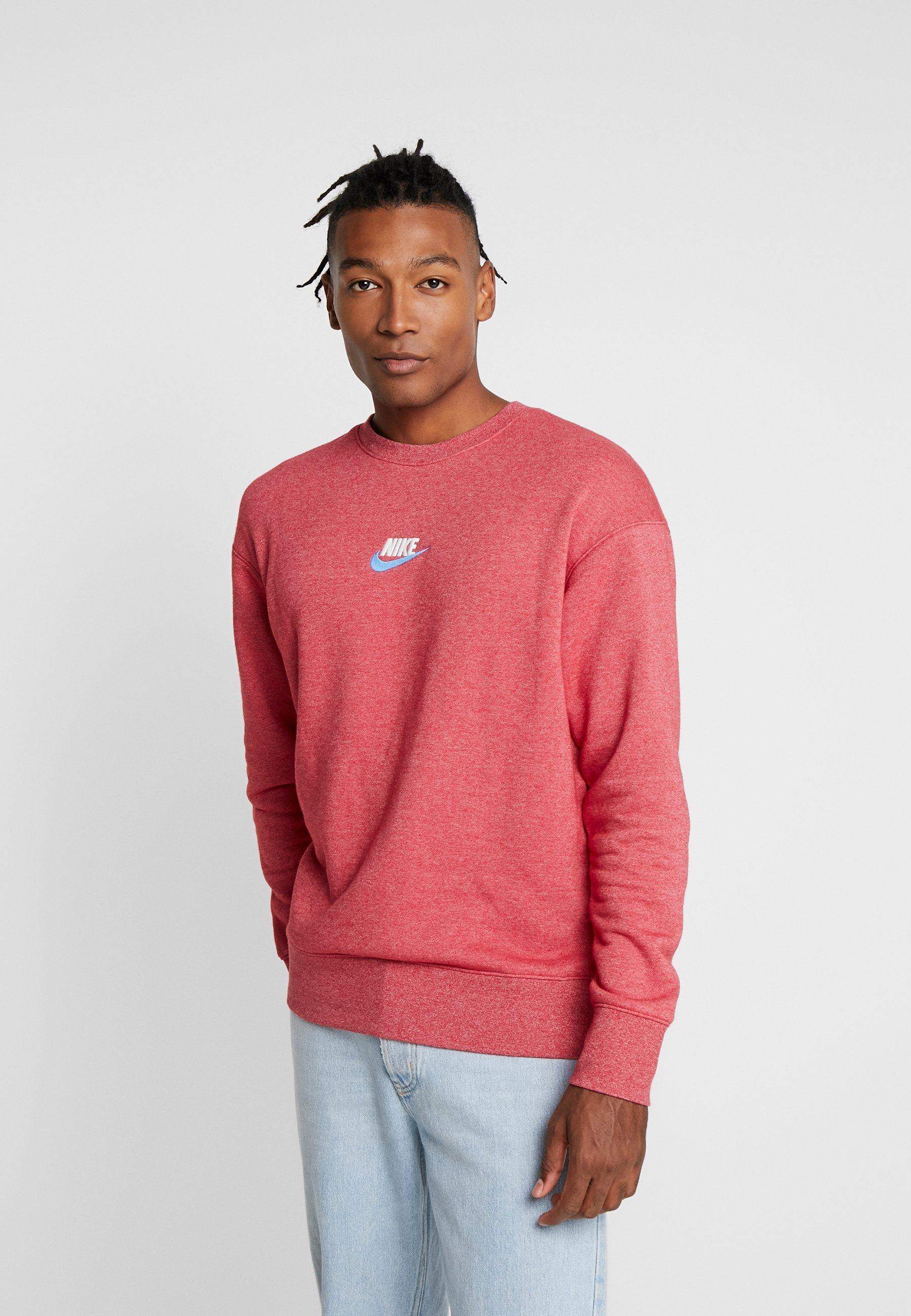 Nike Sportswear HERITAGE - Bluza - gym red
