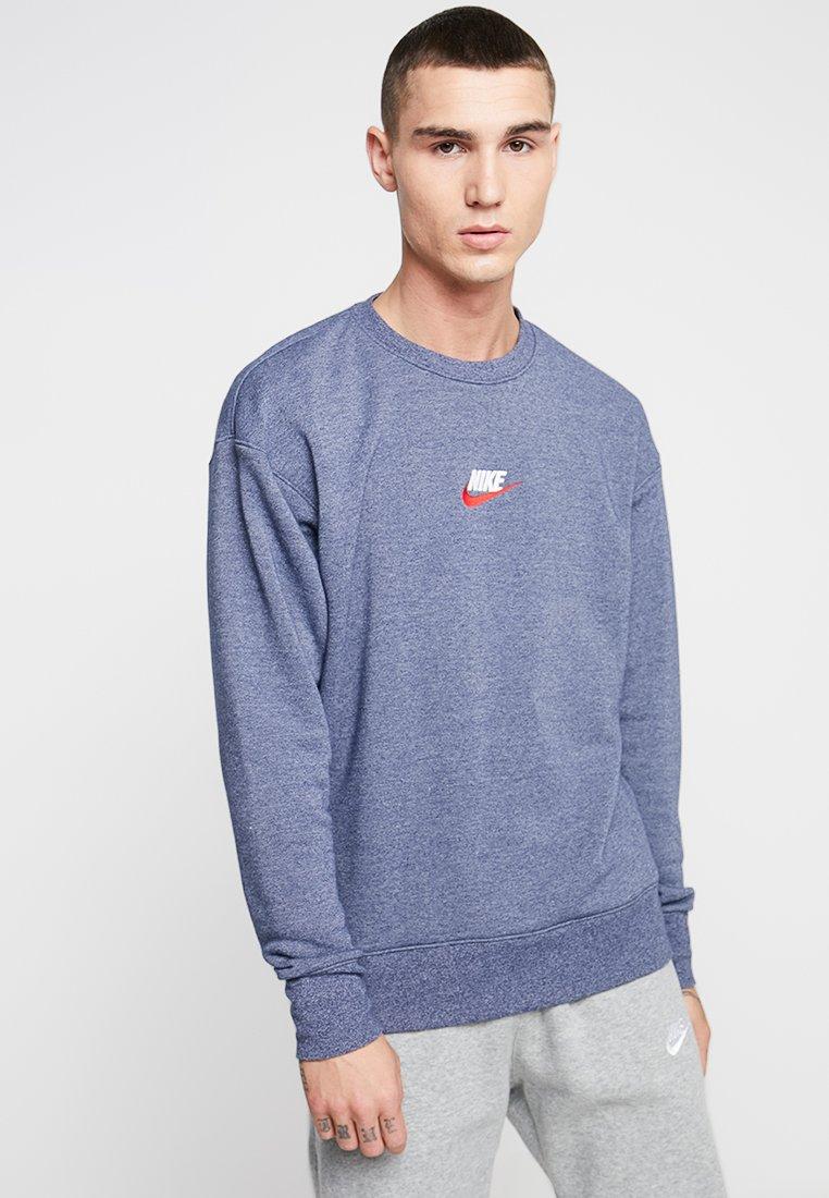 Nike Sportswear - HERITAGE - Sweatshirt - midnight navy