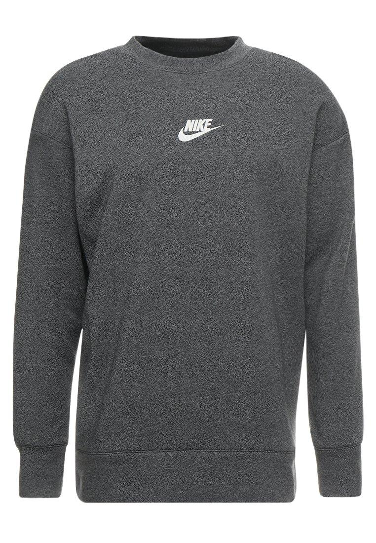 Nike NSW Air Sweatshirt Herren dark grey heather charcoal