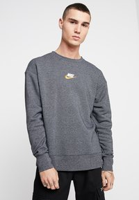 Nike Sportswear - HERITAGE - Sweatshirt - black heather - 0