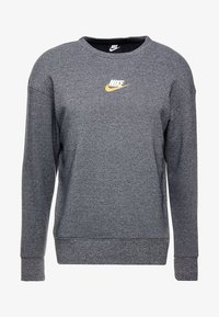 Nike Sportswear - HERITAGE - Sweatshirt - black heather - 4