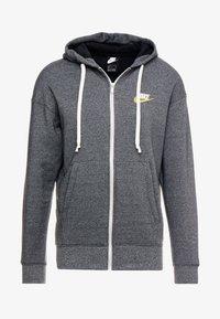 Nike Sportswear - HERITAGE  - Zip-up hoodie - black/heather - 4