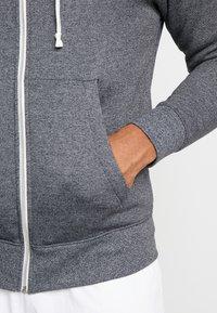 Nike Sportswear - HERITAGE  - Zip-up hoodie - black/heather - 5