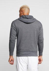 Nike Sportswear - HERITAGE  - Zip-up hoodie - black/heather - 2