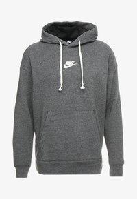 Nike Sportswear - HERITAGE HOODIE - Hoodie - black/sail - 3