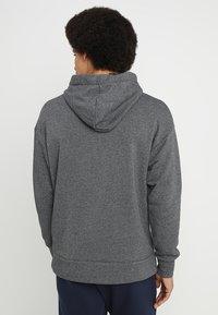 Nike Sportswear - HERITAGE HOODIE - Hoodie - black/sail - 2
