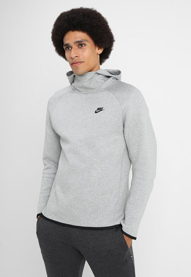 Nike Sportswear - TECH HOODIE - Kapuzenpullover - dark grey heather/black