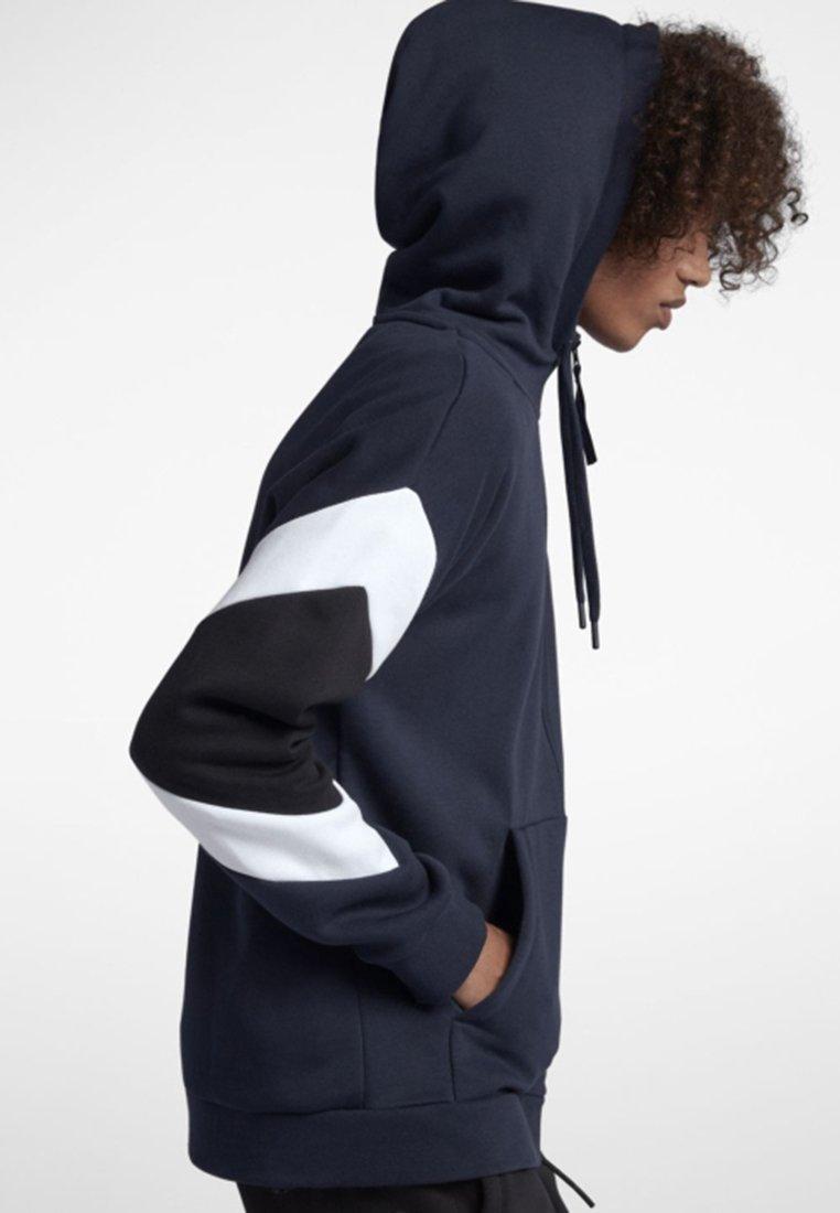Blue white AirVeste Dark black Sportswear En Sweat Zippée Nike CtxhQrds