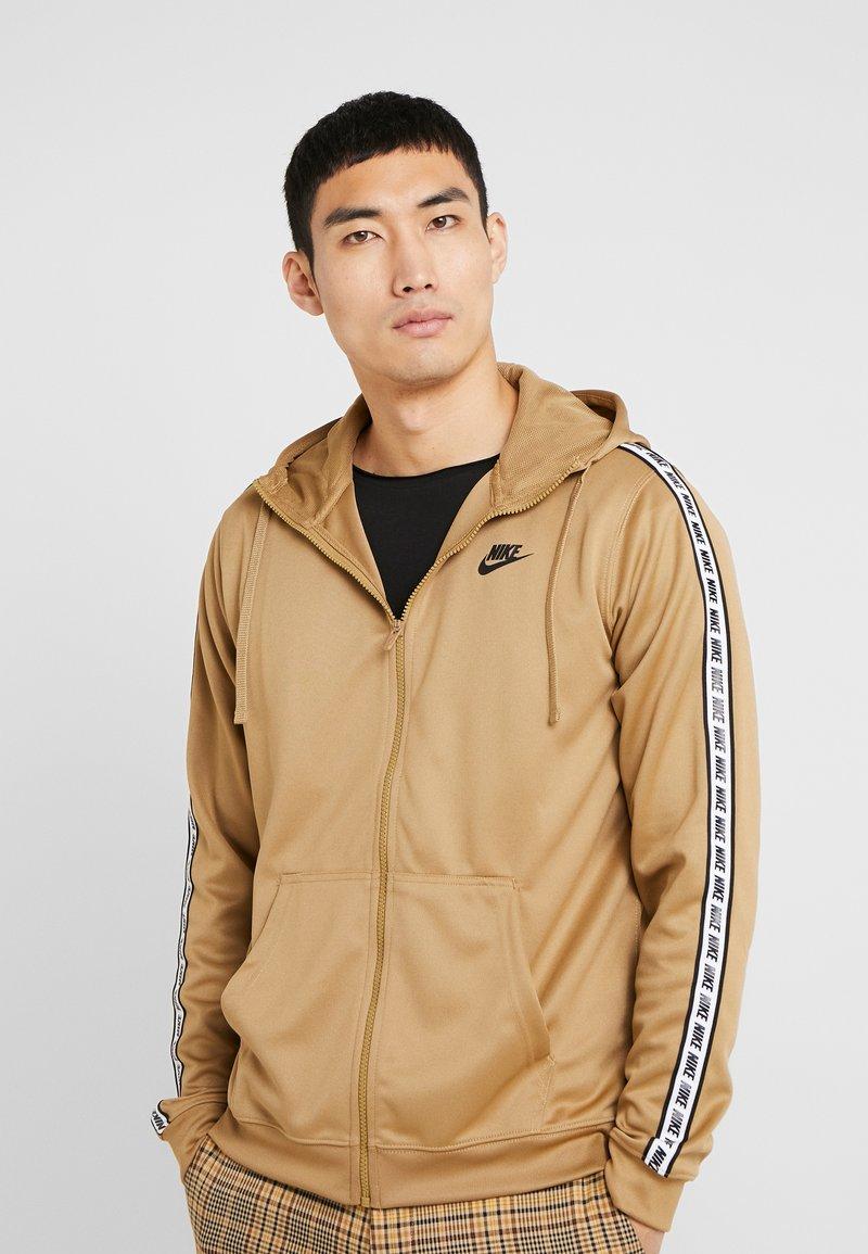 Nike Sportswear - REPEAT HOOD - Træningsjakker - beechtree/black