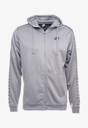 REPEAT HOOD - Sportovní bunda - cool grey/black