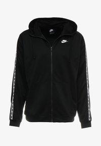 Nike Sportswear - REPEAT HOOD - Chaqueta de entrenamiento - black/white - 4