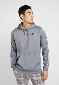 Nike Sportswear - REPEAT HOOD - Bluza z kapturem - cool grey - 0