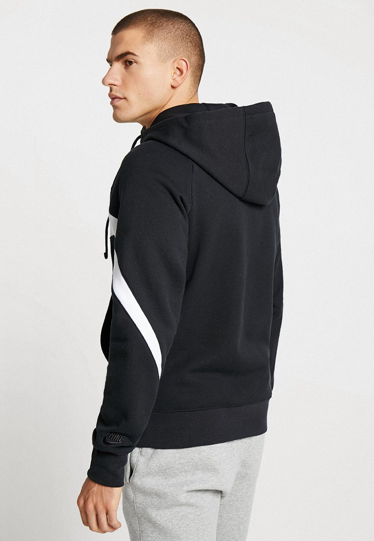 Black Sweat En Zippée Nike Sportswear HoodieVeste white Iy76Ygbfv