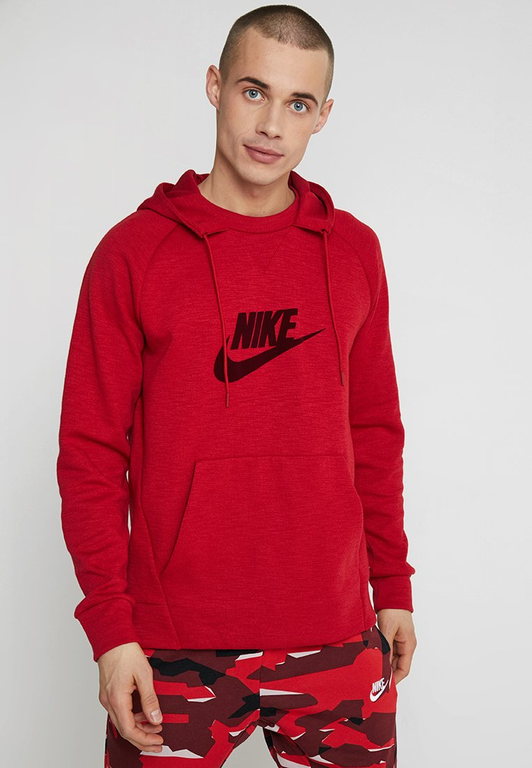 Nike Sportswear - OPTIC HOODIE - Jersey con capucha - gym red