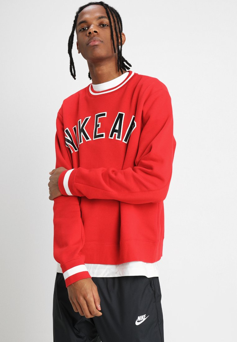 Nike Sportswear - AIR CREW - Sudadera - university red