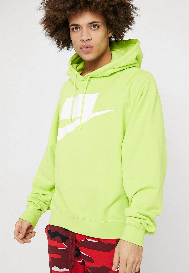 Nike Sportswear - HOODIE - Hoodie - cyber/white