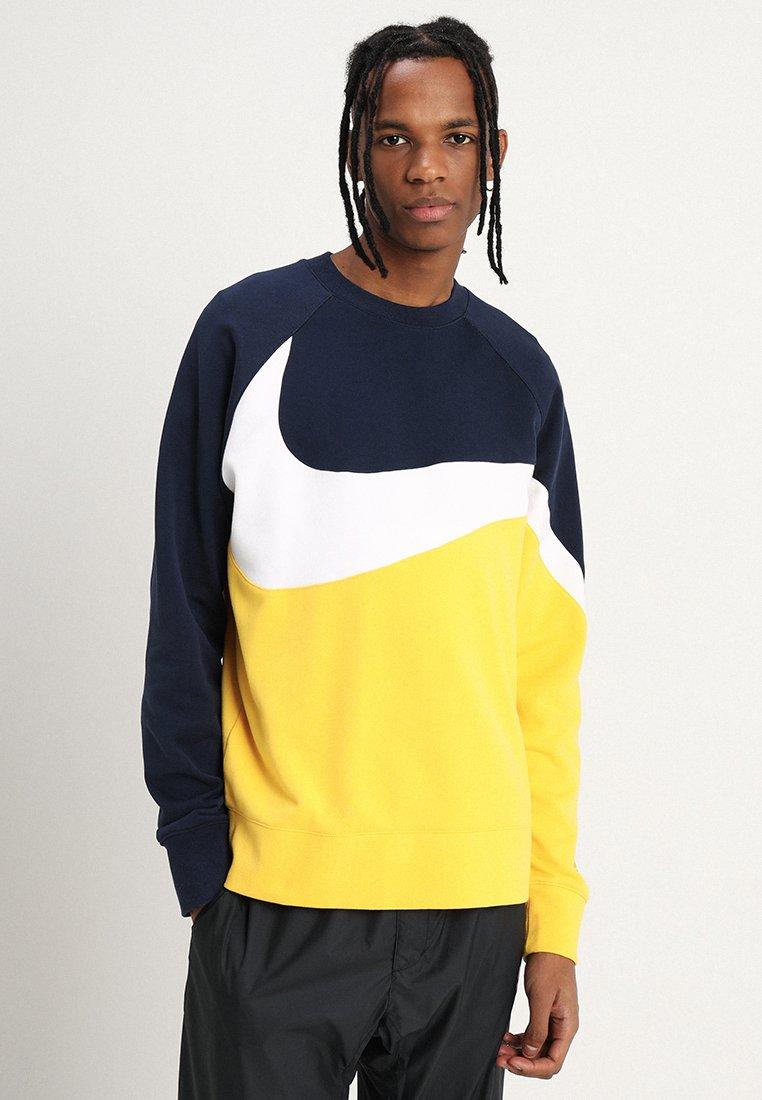Nike Sportswear - CREW - Sweatshirt - amarillo/white/obsidian