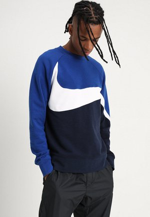 CREW - Sweatshirt - obsidian/white/indigo force