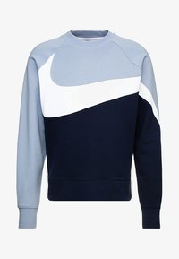 Nike Sportswear - CREW - Sweater - obsidian/white/indigo fog - 4